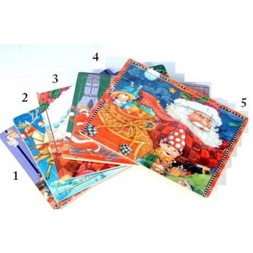 Puzzle 30 x 21 cm Thème Noel