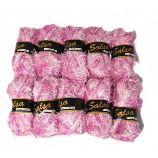 10 Pelotes de fil à tricoter Emotion