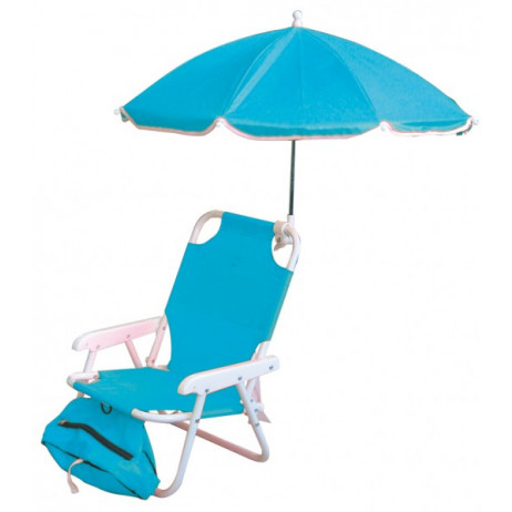 Chaise enfant + parasol + sac