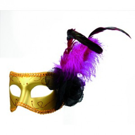 Loup Lorenza Façon Masque Vénitien