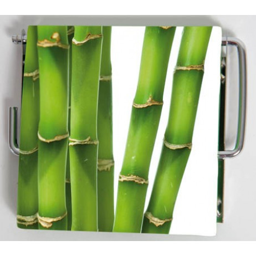 Dérouleur papier WC MDF Bambou