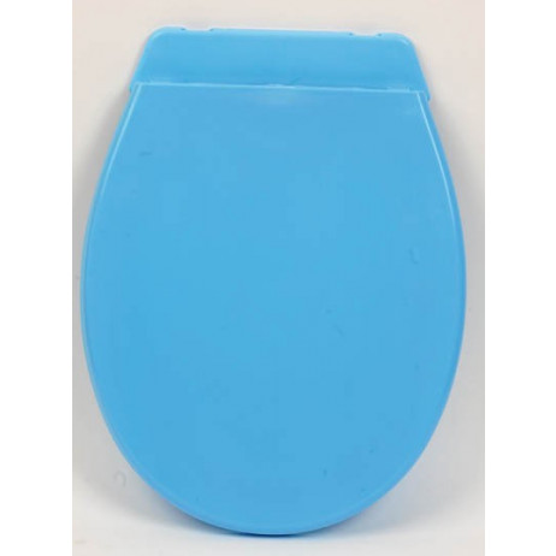 Abattant WC plastique Bleu