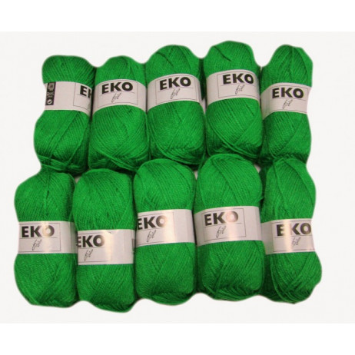 Pelote de laine Eko Fil Vert pomme
