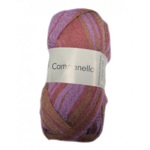 1 Pelote de fil à tricoter Campanello Rose Parme