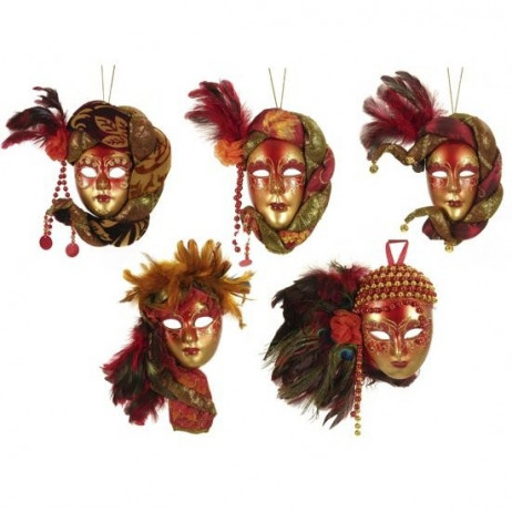 Masque vénitien décoré 20 cm