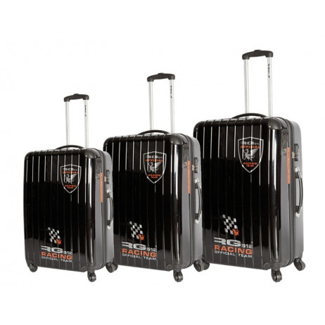 Lot de 3 Valises RG512 Officiel Noir