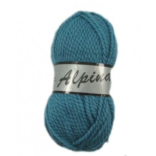 Pelote de laine Alpina Lammy Bleu Canard