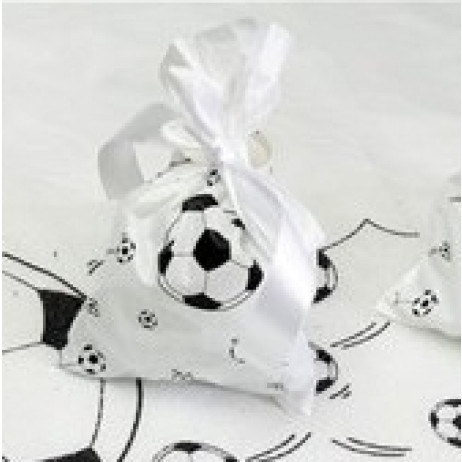 sachet a bonbon football contenant dragees pas cher badaboum. Black Bedroom Furniture Sets. Home Design Ideas