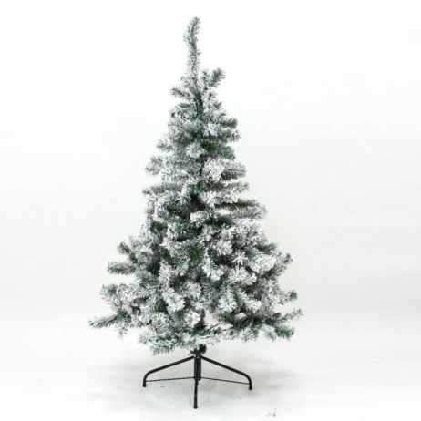 sapin artificiel de noel floqu vert neige 120 cm sapin. Black Bedroom Furniture Sets. Home Design Ideas