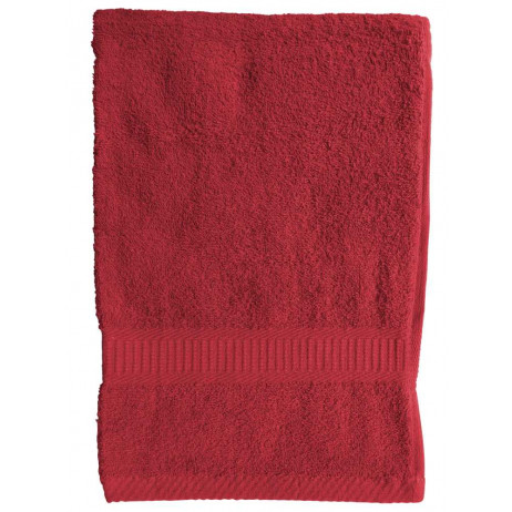 Serviette de Toilette Rouge 50x90cm