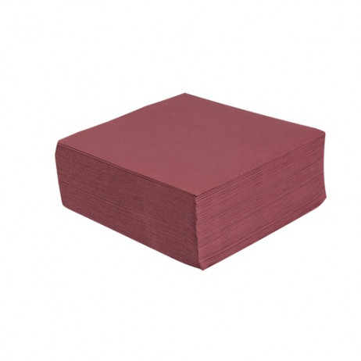 Serviette en papier Bordeaux 38 x 38 cm x 40 pièces