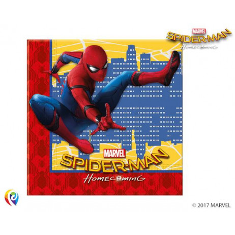 Serviette en papier Spiderman