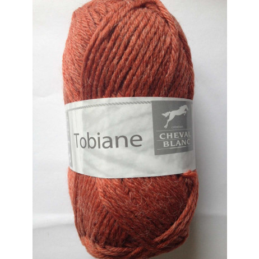 Pelote de laine Tobiane Cheval Blanc Tanin