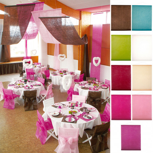 Tenture mariage pas cher en tissu intisse pour plafond badaboum - Vase mariage pas cher ...