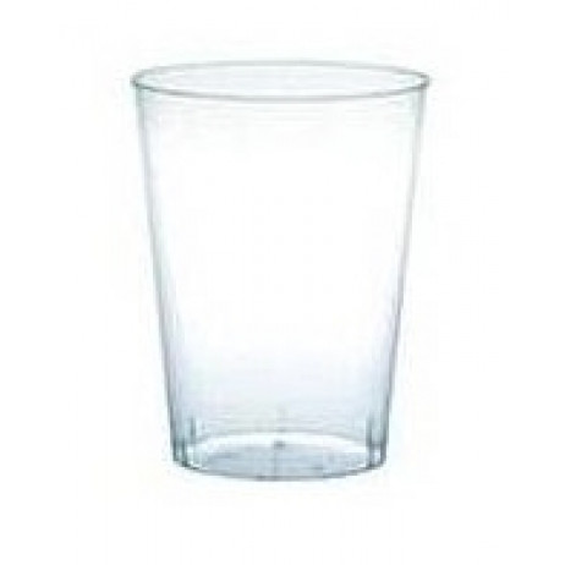 Verre a degustation plastique transparent