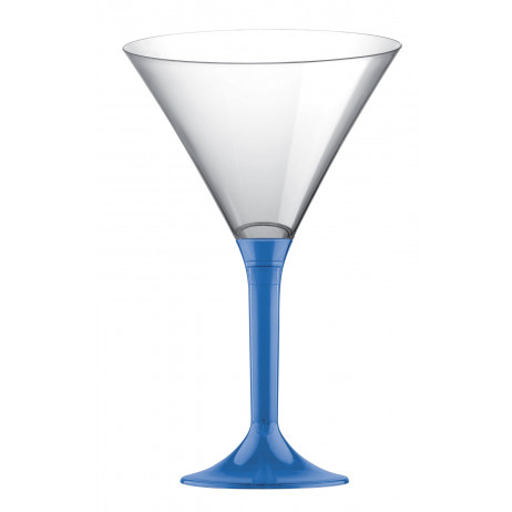 verre cocktail en plastique bleu roi transparent vaisselle jetable pas cher badaboum. Black Bedroom Furniture Sets. Home Design Ideas