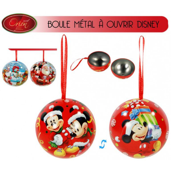 boule de noel disney enfant pas cher deco noel badaboum. Black Bedroom Furniture Sets. Home Design Ideas