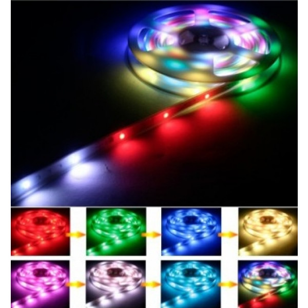 Guirlande tube lumineux pvc flexible 4m decoration noel for Cordon lumineux exterieur