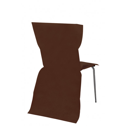 housse de chaise pas cher couleur chocolat pour mariage x6. Black Bedroom Furniture Sets. Home Design Ideas