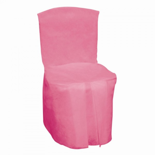 housse de chaise fuchsia intgrale x5 - Chaise Moins Cher
