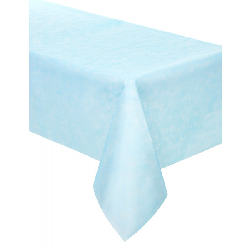 Nappe en tissu intisse rectangulaire bleu ciel 3m nappe mariage badaboum - Nappe tissu pas cher ...