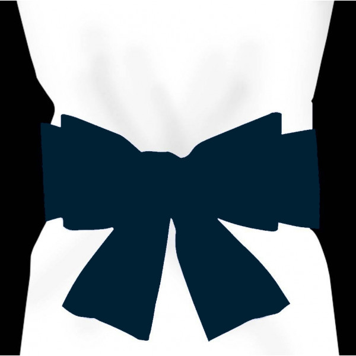 Noeud Pour Housse De Chaise Bleu Marine Deco Mariage Badaboum