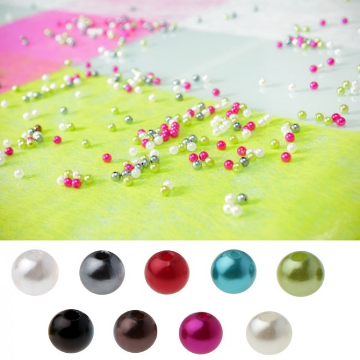 Perle ronde pour decoration de table mariage badaboum for Perle decoration