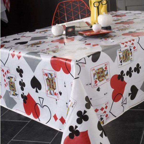 toile cir e au m tre pas cher nappe de table originale carte badaboum. Black Bedroom Furniture Sets. Home Design Ideas