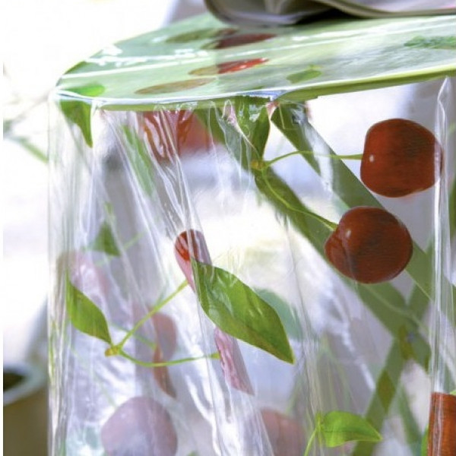 achat nappe transparente sur mesure marielle toile cir 233 e cristal badaboum