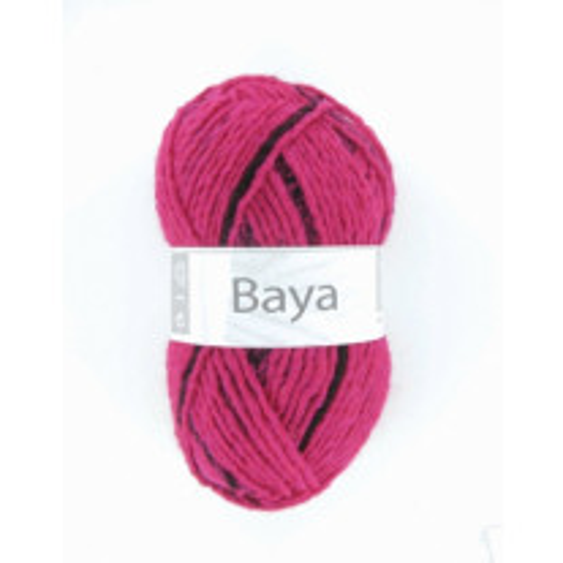 Pelote de laine Baya Rose fluo Cheval Blanc