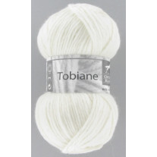 Pelote de laine Tobiane Cheval Blanc Naturel