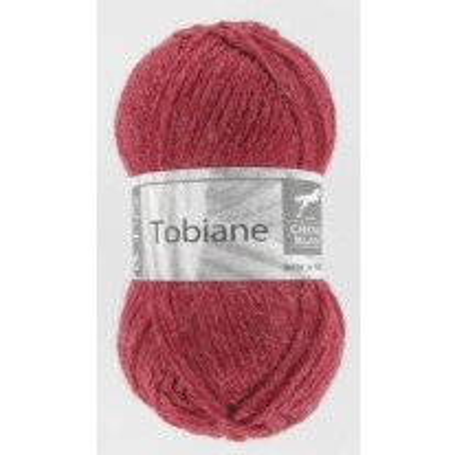 Pelote de laine Tobiane Cheval Blanc Fraise
