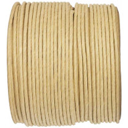 Bobine de cordon en papier Ecru 20m