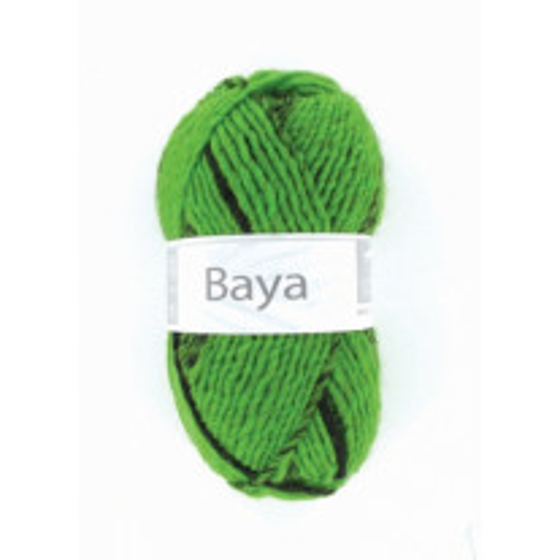 Pelote de laine Baya Vert fluo Cheval Blanc