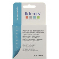300 Pastilles de colle 3mm