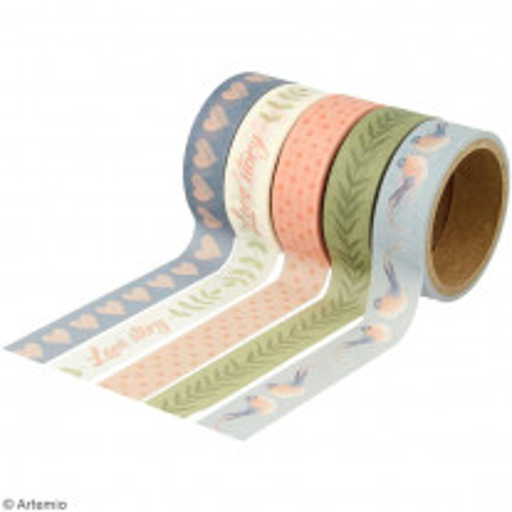 5 Masking tape Love Story