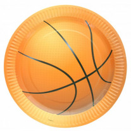 Assiette carton Basket 23cm