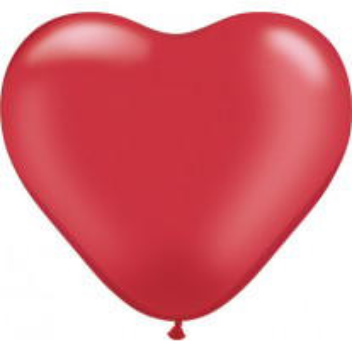 Ballon Gonflable Coeur Rouge Rouge 45 cm x 3 pièces