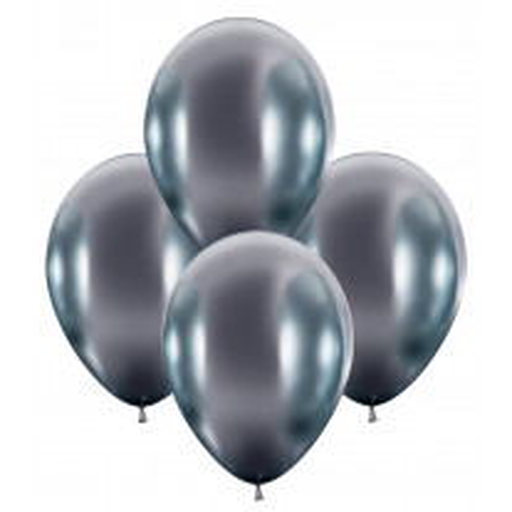 Ballon gonflable brillant luxe Argent