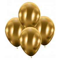 Ballon gonflable brillant luxe Or