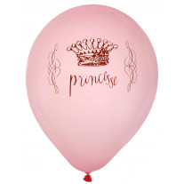 Ballon gonflable Princesse Rose