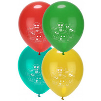 Ballon gonflables Emoji assorties