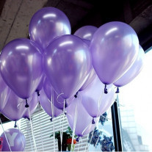 Ballon mariage nacre Parme 30cm