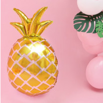 Ballon mylar Ananas Or