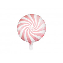 Ballon mylar Candy bar rose