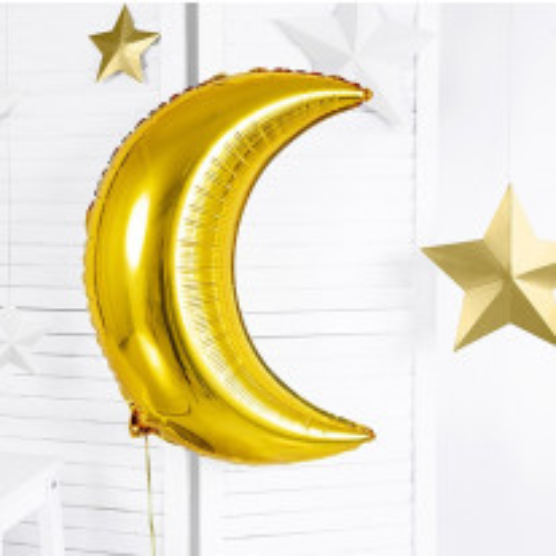 Ballon mylar Croissant de Lune