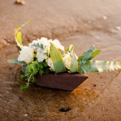 Barque deco mariage theme Mer 24cm