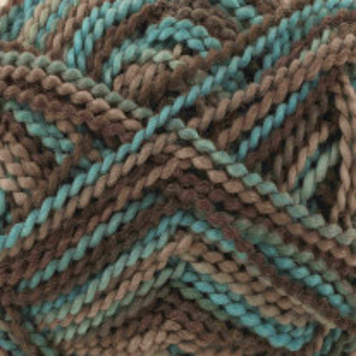 Pelote de laine grundl Perla Turquoise Marron