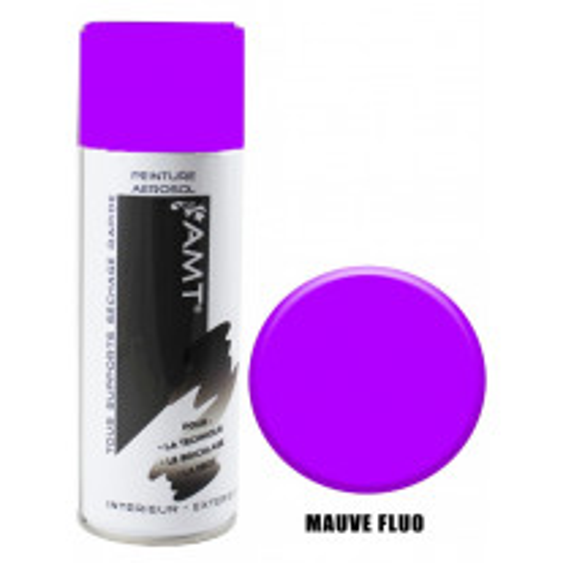 Bombe de peinture Aeorsol Mauve Fluo 400 mL