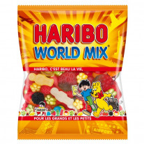 Bonbon Haribo World Mix